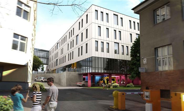Nový pavilon Nemocnice Pelhřimov