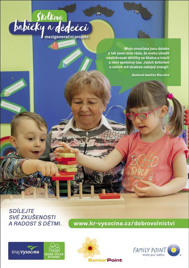 Projekt Školkové babičky a dědečci