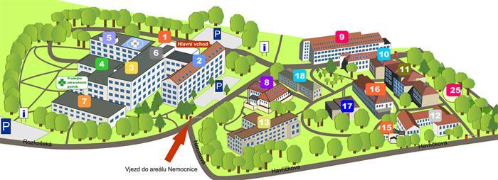 Očkovací centrum - nemocnice Havlíčkův Brod
