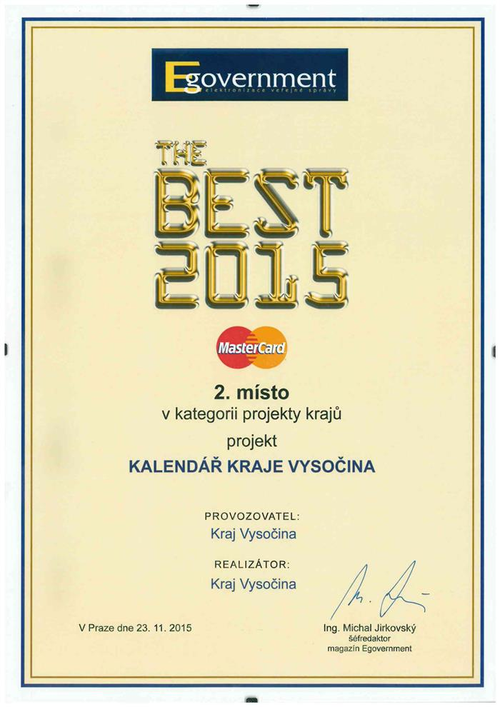 The BEST 2015