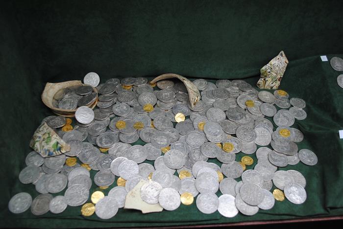 Poklad mincí z Vysočiny